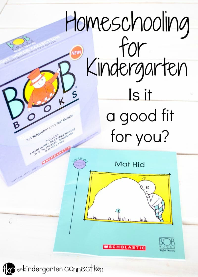 Are you thinking about homeschooling for kindergarten? Learn if homeschooling kindergarten is a good fit for your family.