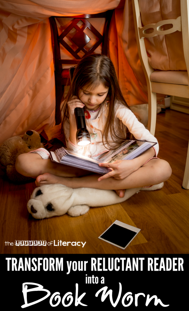 Let's be honest: some kids just don't like reading! Here are five ways to encourage reading, hopefully transforming a reluctant reader into a bookworm!