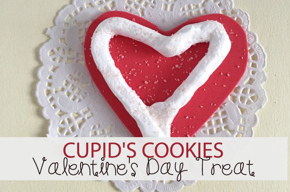 Valentine's Day Treat: Cupid's Cookies