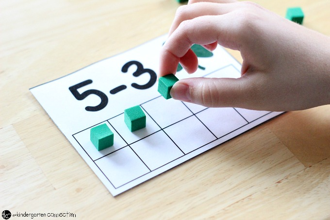 Great for small groups or individual work, these free printable Clover Addition and Subtraction Cards can be used in a number of different ways!