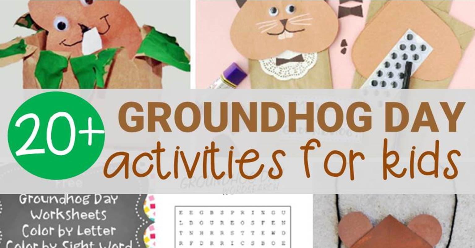 image relating to Groundhog Day Word Search Printable known as Enjoyment Groundhog Working day Functions for Young children