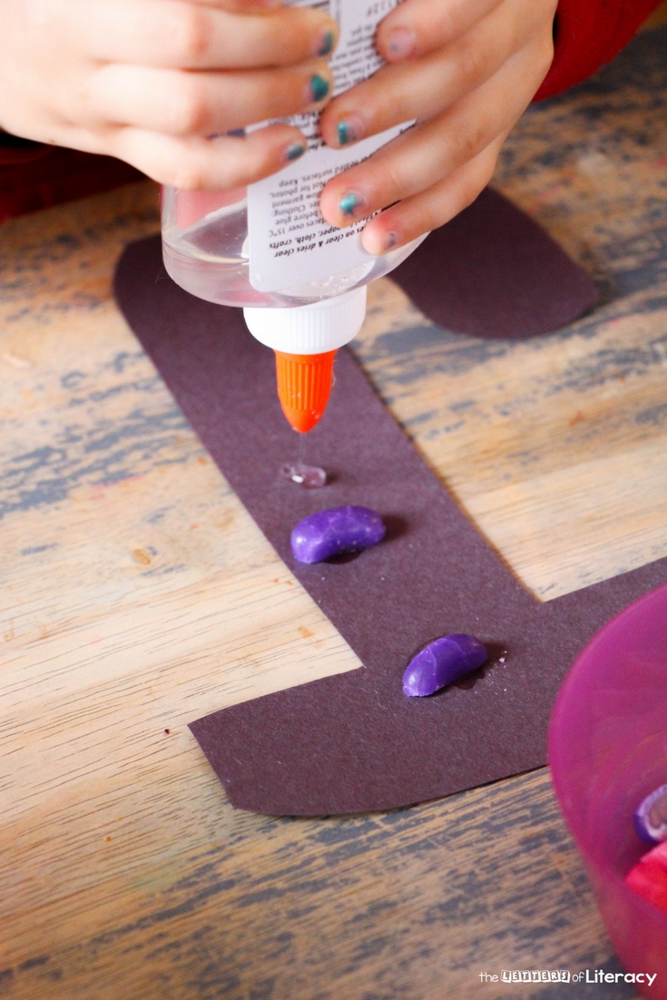 Today, we're sharing our J is for Jellybean Kindergarten Letter J Craft. Practice fine motor skills and make letter learning hands-on!