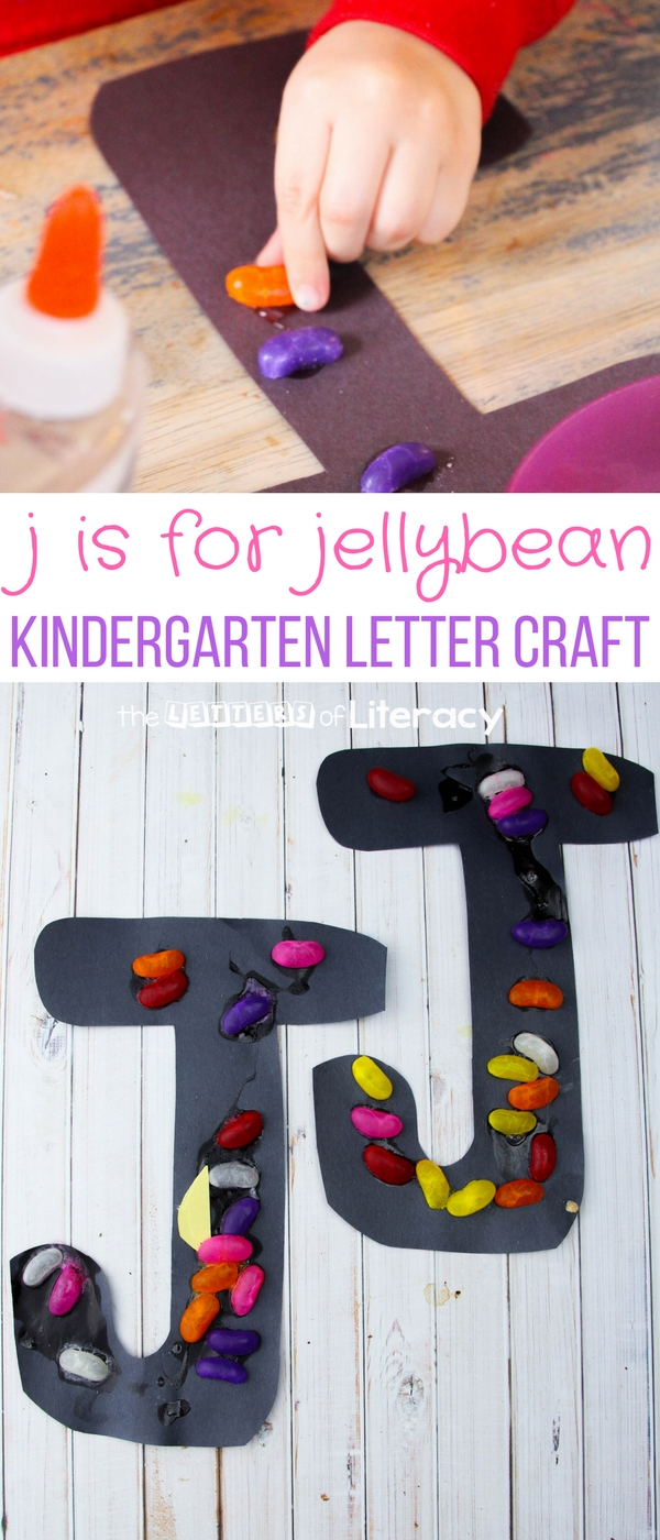 Letter J Craft J Is For Jellybean Craft For Preschool