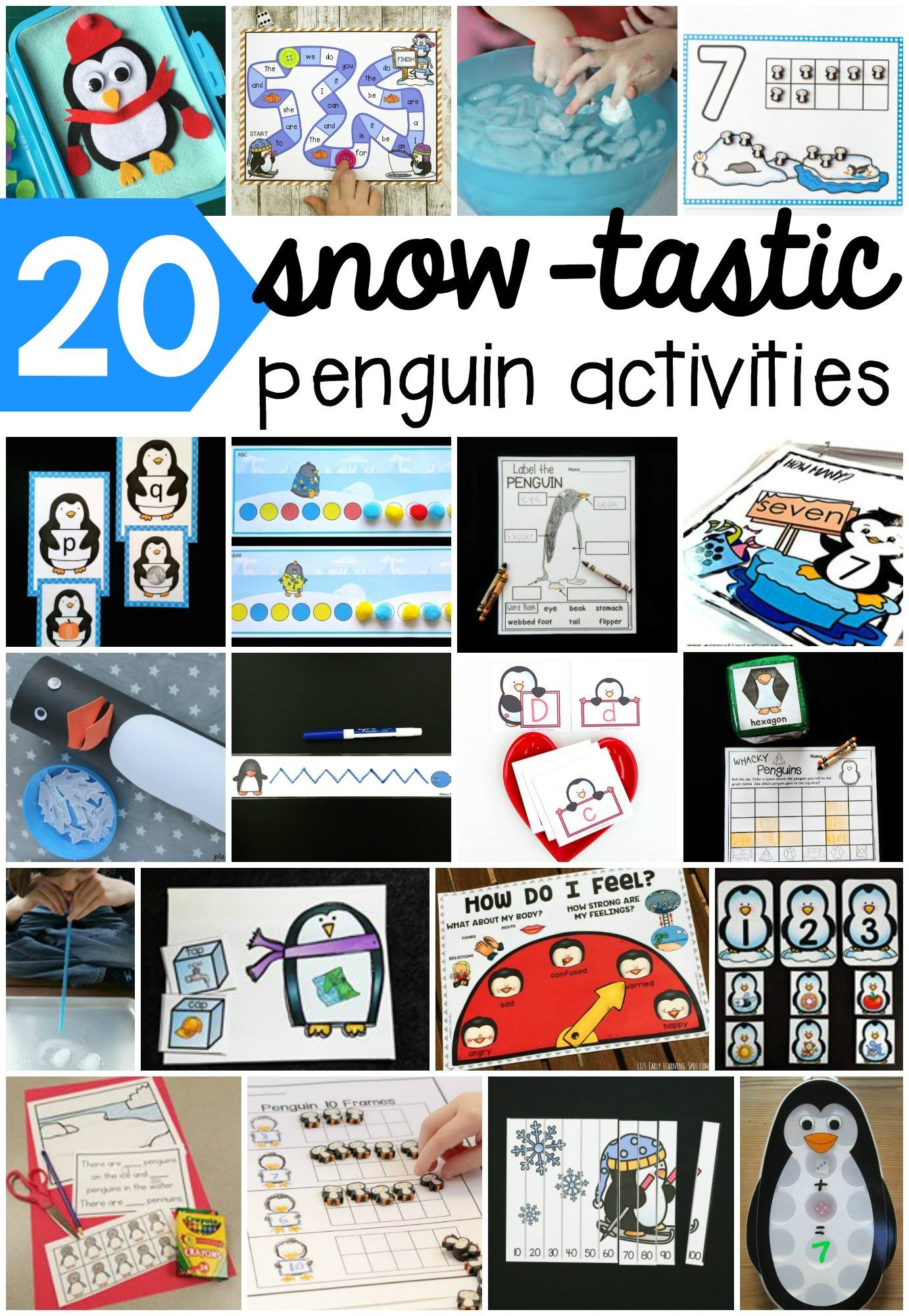 20 super fun penguin activities for kids!