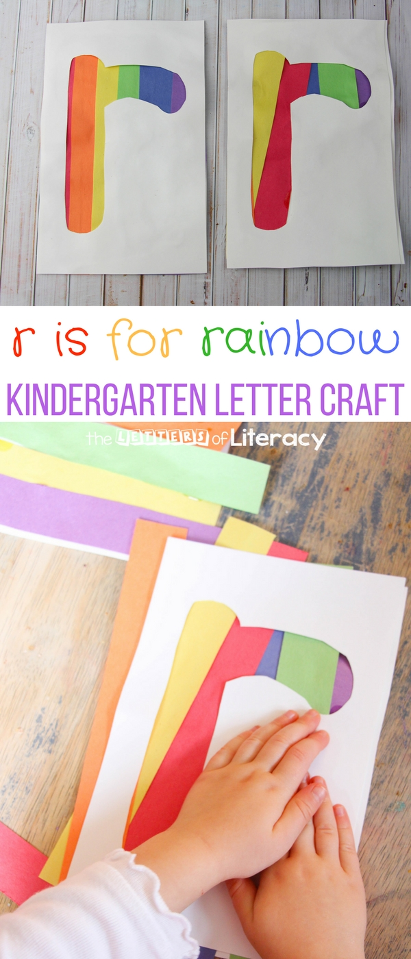 letter r craft r is for rainbow kindergarten letter crafts