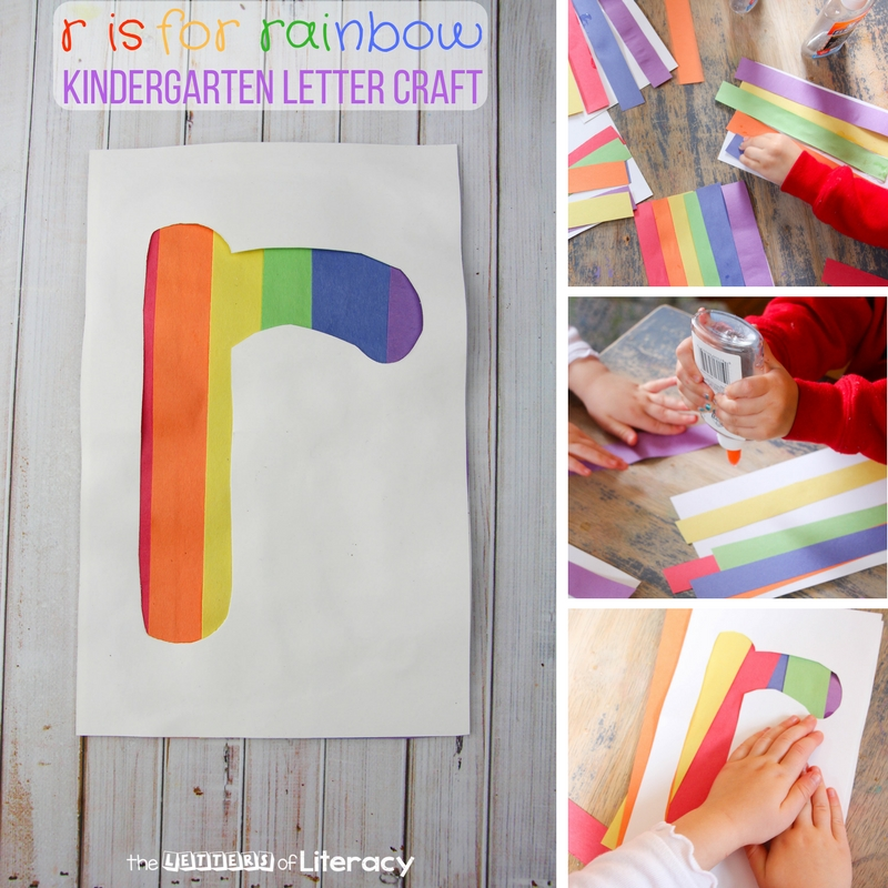 This letter r craft is a fun alphabet activity for preschoolers or kindergarteners who are learning their letters! It makes a great hands-on letter craft.