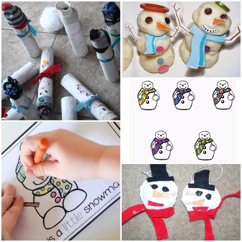 sensational snowman activities for kids