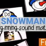 Snowman Beginning Sound Match