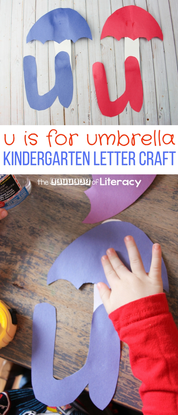 Letter U Craft Is For Umbrella