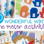 20 Wonderful Winter Fine Motor Activities