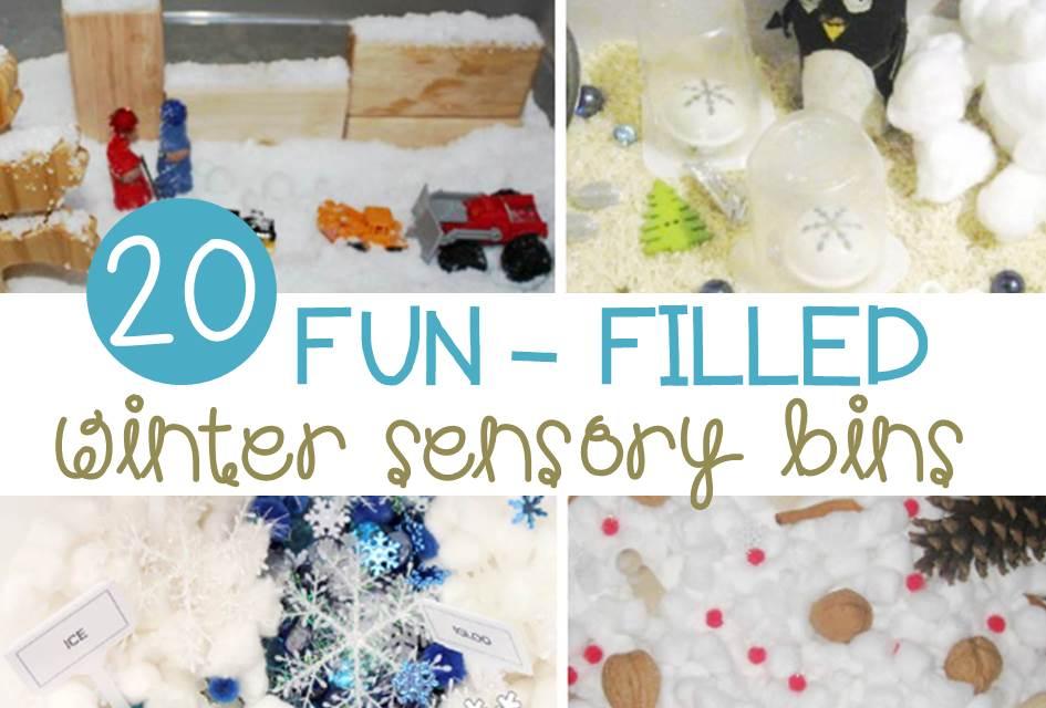 Fun-Filled Winter Sensory Bins