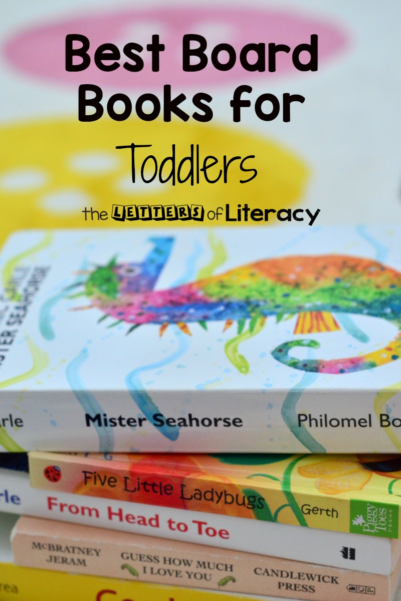 Use these board books for toddlers to lay a firm reading foundation. They are some of the most loved and popular books around!