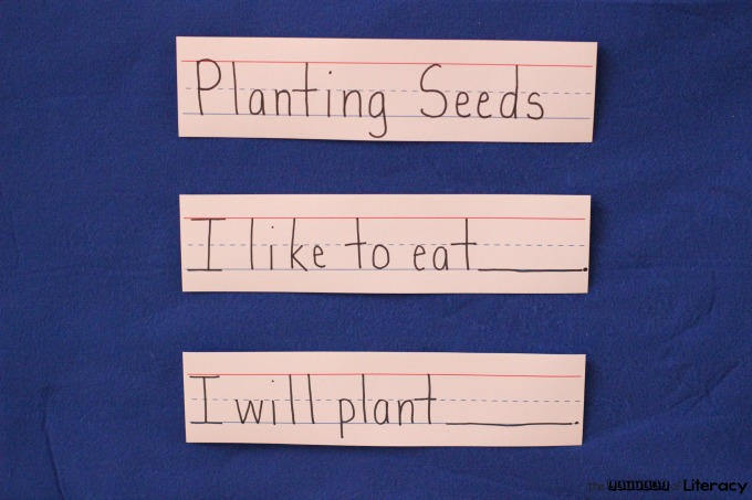In preparation for springtime, I want to share a wonderful Planting Seeds Spring Writing Activity where children are inspired to write for fun!