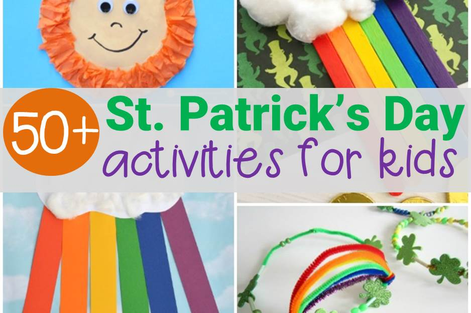 Awesome list of St. Patrick's Day activities for kids!