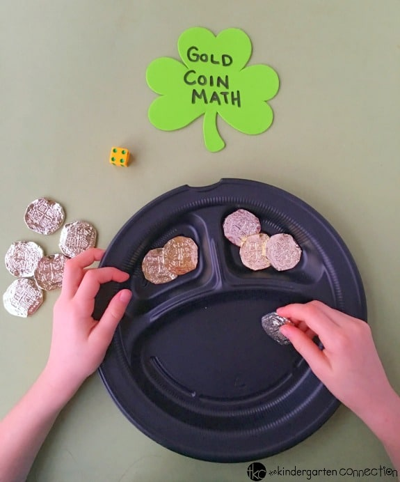 Working on beginning addition? Grab some dice for this super fun addition game for St. Patrick's Day! Your Kindergarten or 1st grade students will love it!