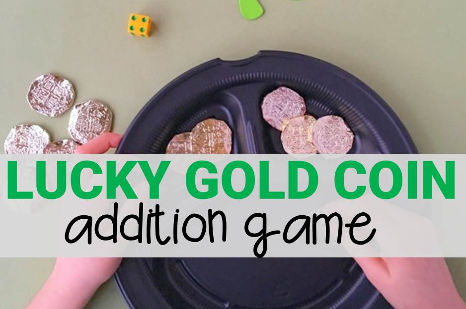 Lucky Gold Coin Addition Game