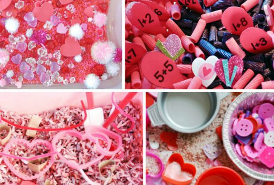 20 Valentine Sensory Bins Kids Will Love for Pre-K and Kindergarten!