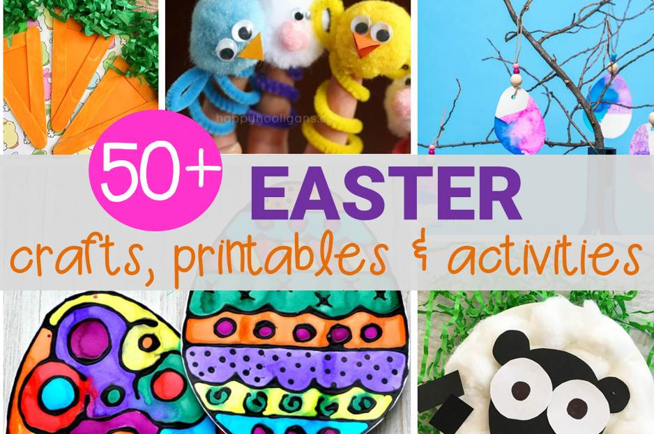 50+ Easter Activities for Kids