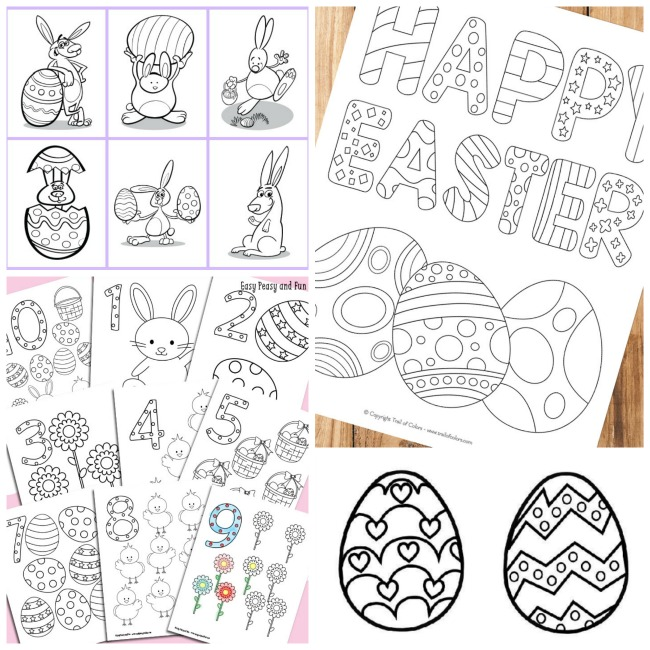 photo relating to Printable Easter Activities identified as 50+ Easter Routines That Youngsters Will Get pleasure from!
