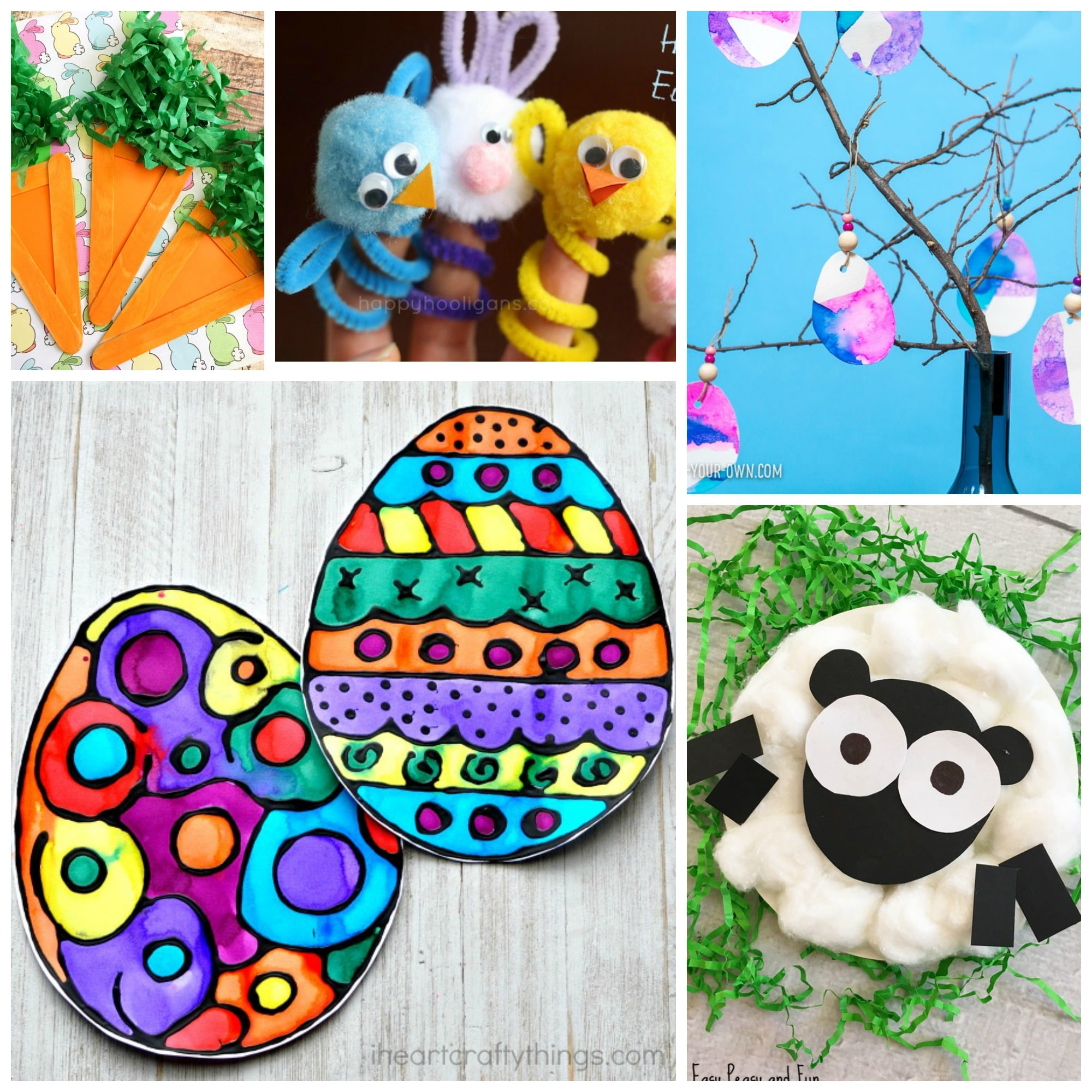 50+ fun Easter activities for kids! Easter printables, crafts, games, and more that your kids are sure to love to try this Easter!
