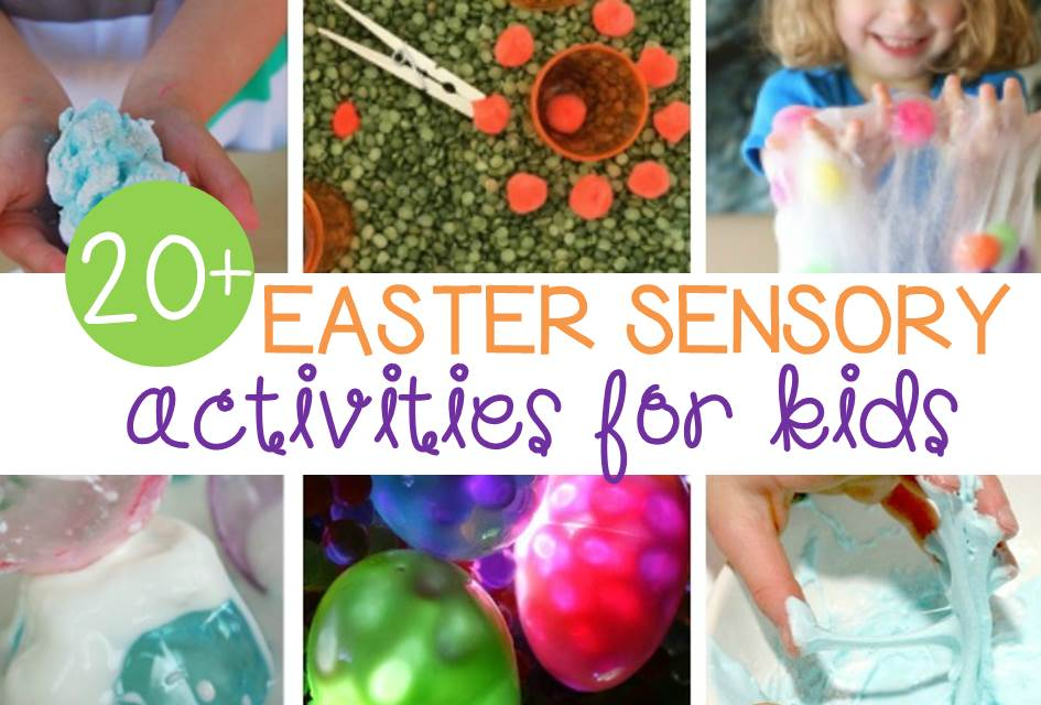 Awesome Easter Sensory activities for kids!