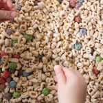 Edible Alphabet Sensory Bin