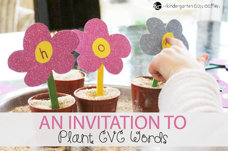 An Invitation to Plant CVC Words