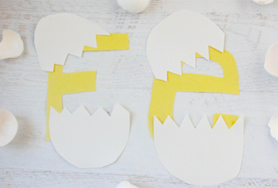 E is for Egg Letter E Craft