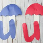 Letter U Craft – U is for Umbrella