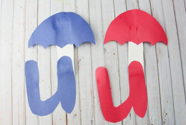 Letter U Craft – U is for Umbrella