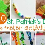 Charmingly Fun St. Patrick's Day Fine Motor Activities