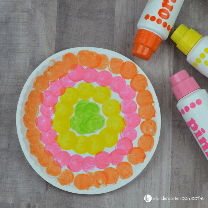 Do A Dot Flower Craft For Kids Preschool Spring Craft Activity