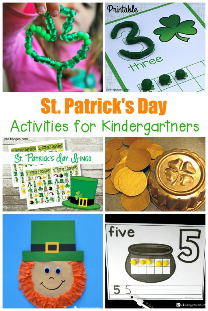 St. Patrick's Day Activities for KIndergarten!