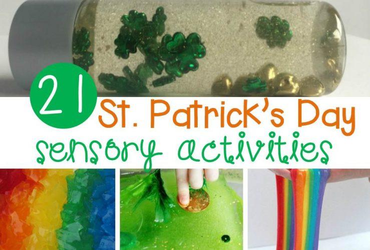 Sensational St. Patrick's Day Sensory Activities