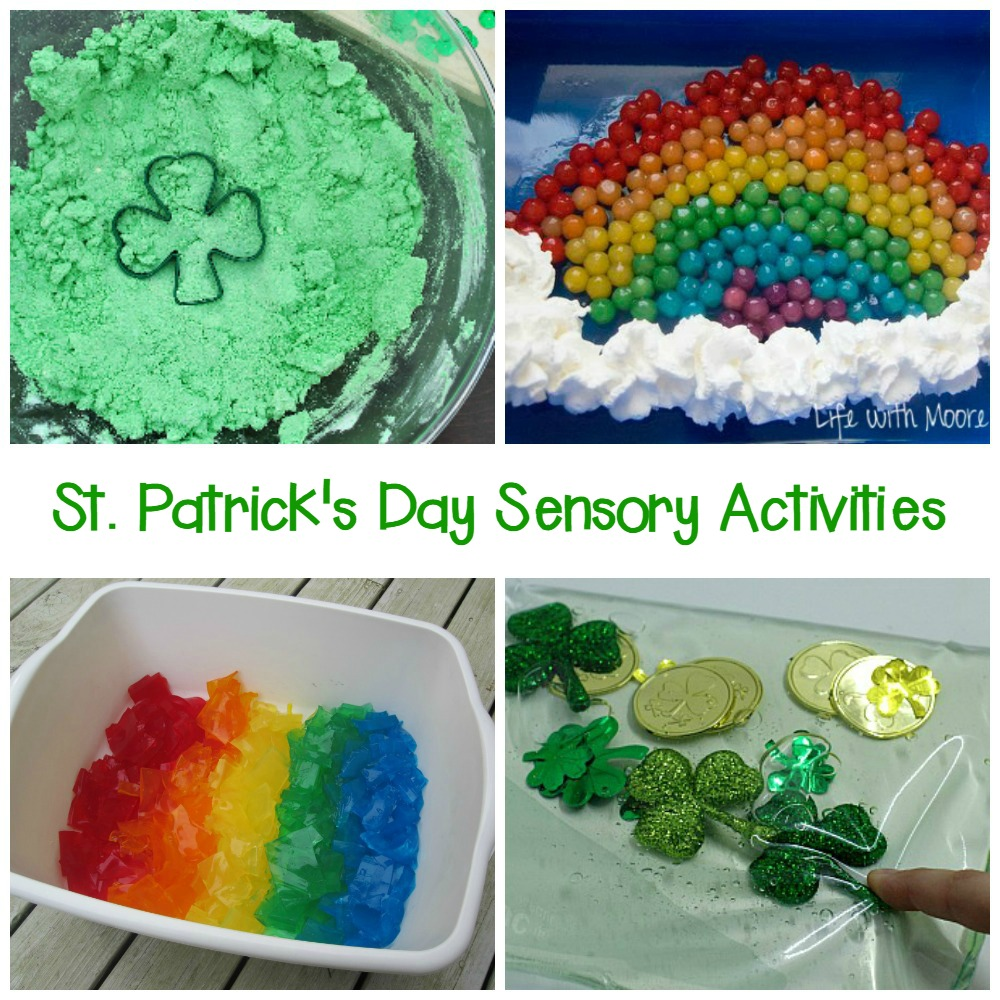 These St. Patrick's Day sensory activities for kids are the perfect way to have some hands-on, engaging, sensational fun this St. Patrick's Day!