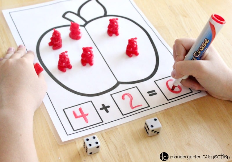 Apple Addition And Subtraction Fall Math Mats