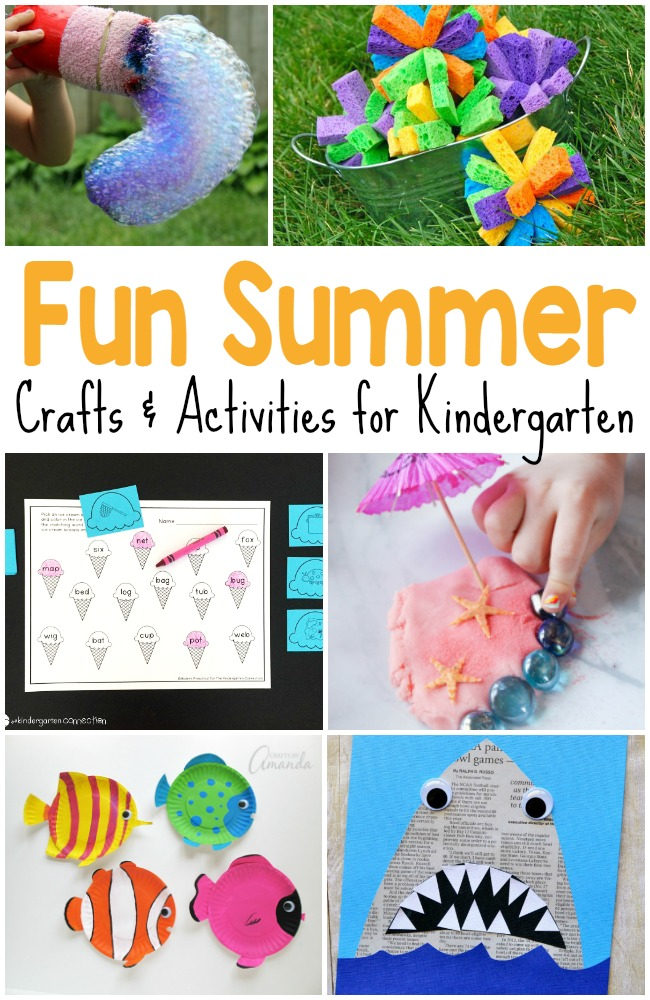 50+ Summer activities for kids! Summer printables, crafts, games, and more that your kids are sure to love to try this summer!