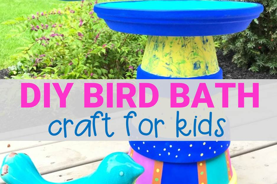 Spring Craft – DIY Bird Bath