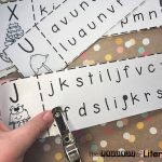 Hole Punch Letter Matching Activity For Upper & Lowercase Letters. A fun activity to help kids practice matching upper and lowercase letters.