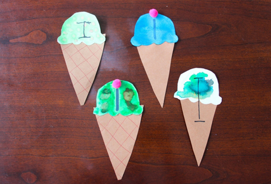 Letter I Craft – I is for Ice Cream