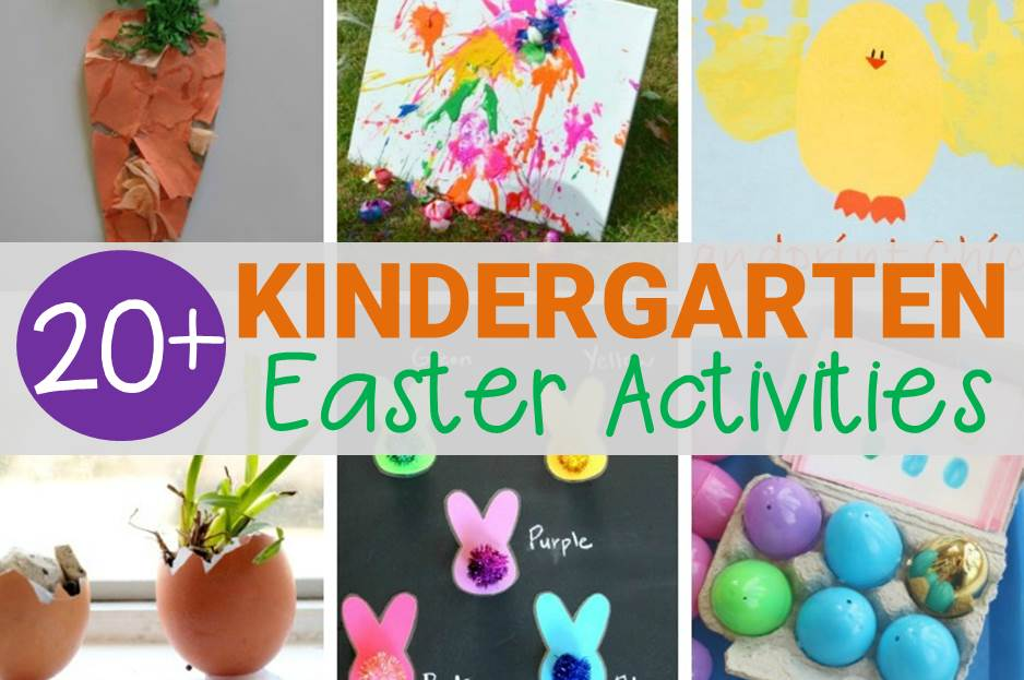 Must-Try Easter Activities for Kindergarten Kids