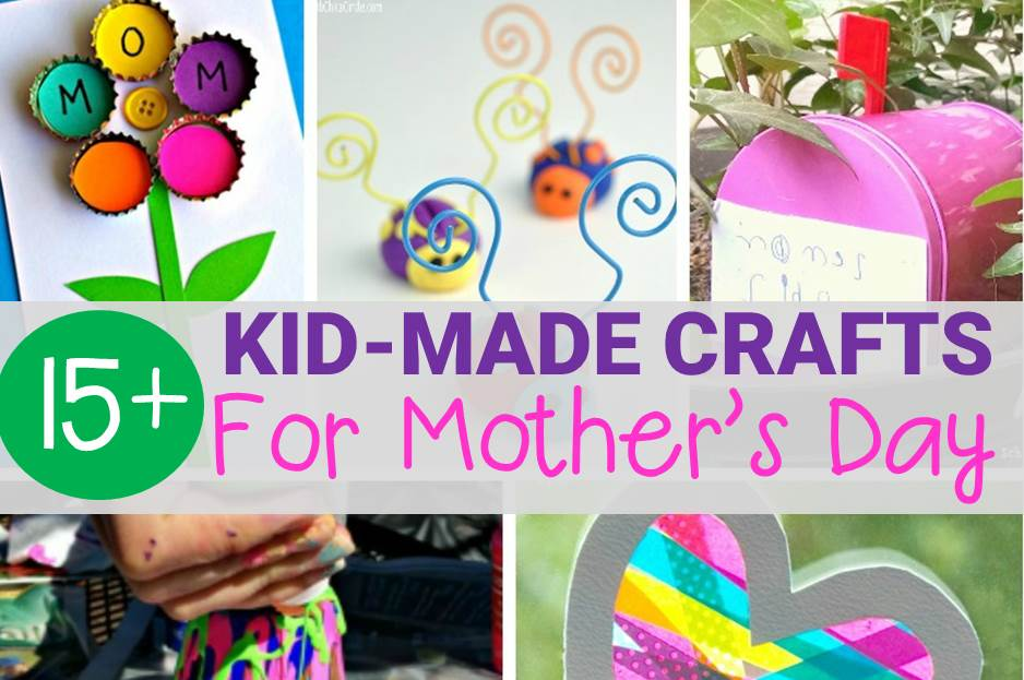 Kid-Made Mother's Day Crafts Moms Will Love!