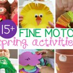 Fabulous Fine Motor Activities for Spring