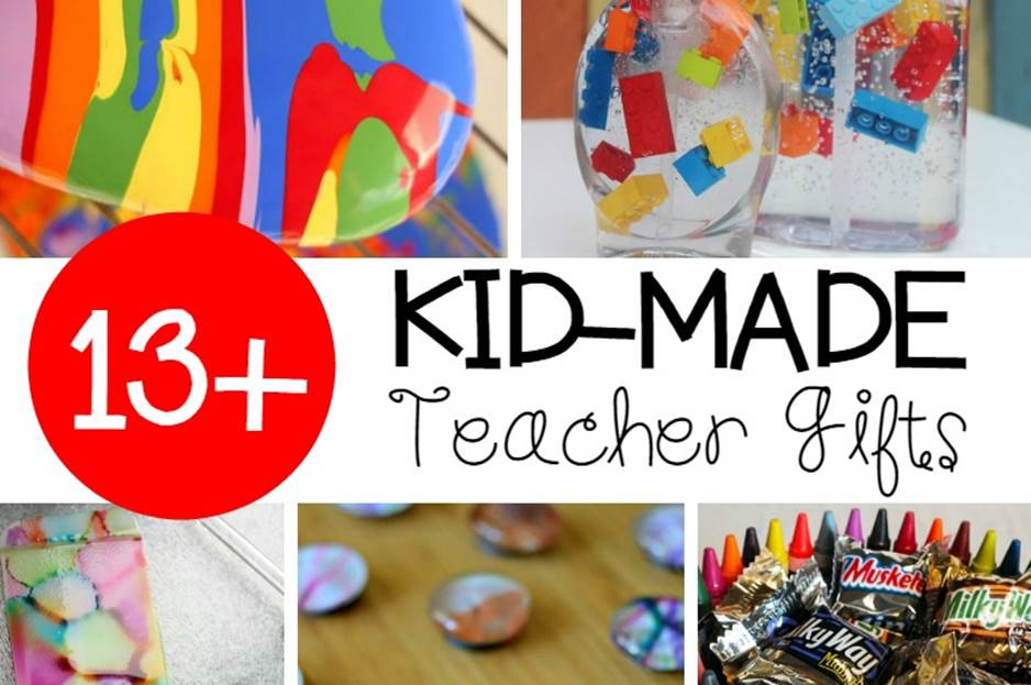 Awesome Kid-Made Teacher Appreciation Gifts