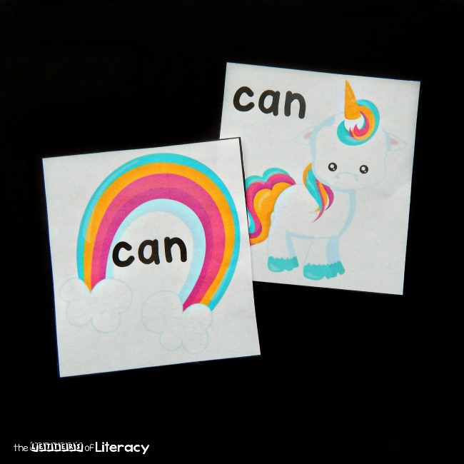 Make practicing sight words feel magical with this editable unicorn sight word matching game! It's a fun literacy center for Kindergarten or first grade.