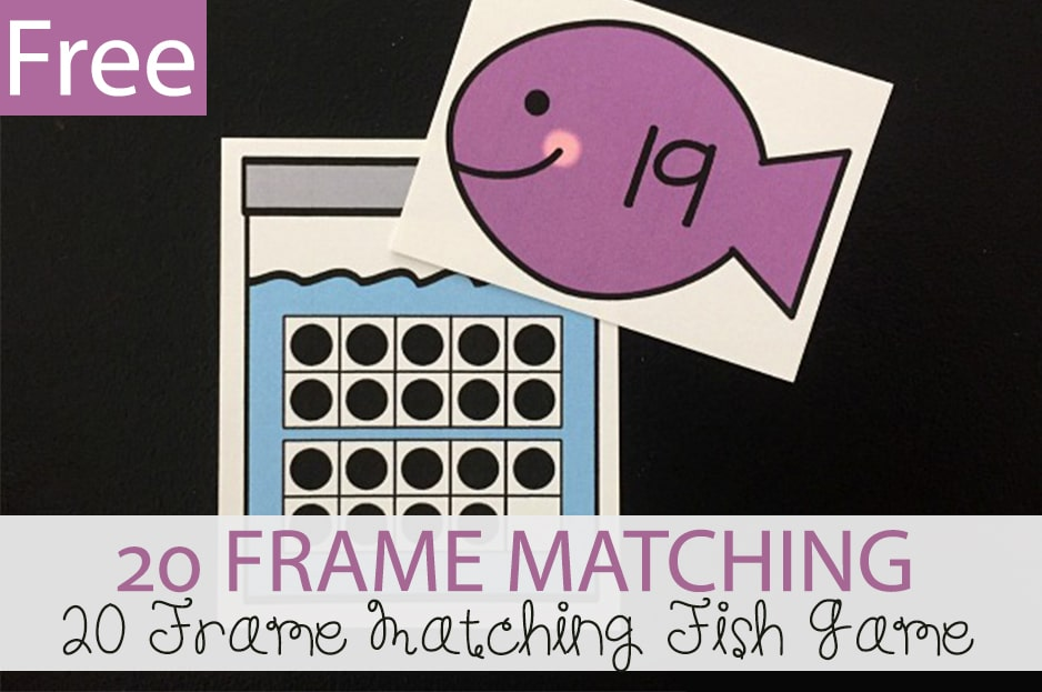 20 Frames Matching Fish Game