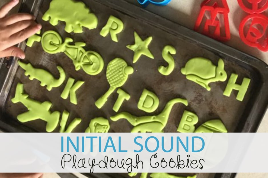 Initial Sound Playdough Cookies