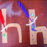 H is for House Letter H Craft for Preschool and Kindergarten