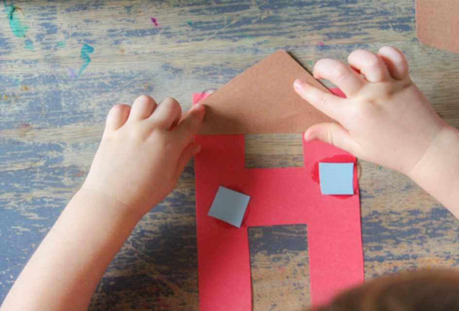 H is for House – Letter H Craft