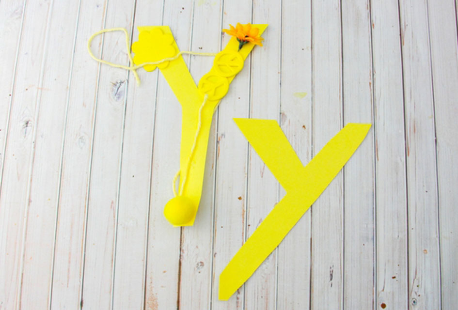 Letter Y Craft – Y is for Yellow